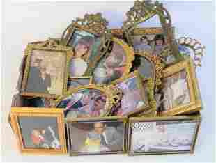 Tray Lot of Picture Frames, to include French gilt