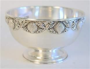 Topazio Sterling Silver Bowl, Portuguese sterling