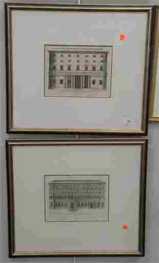 Eight Piece Group of Framed Works, to include six