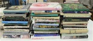 Large Lot of Coffee table books, approximately 48,