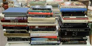 Large Lot of Coffee table books, approximately 49,
