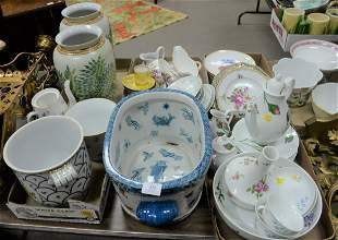 Large Group Lot of Porcelain, to include 2 Limoges