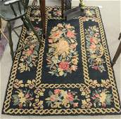 Four Throw Rugs, to include 3 hooked; along with one