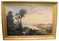 American School (19th century) Hudson River Valley