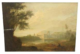 After Old Master Landscape (19th Century), with a