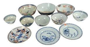 Eleven Piece Lot of Chinese Export to include various