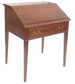 Irion Company Furniture Makers Federal Style Cherry