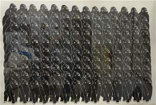 Steve Gianakos (American, b. 1938), Gorillas No. 12,