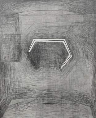 Pedro Calapez (Portuguese, b. 1953), untitled, 1988,