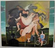 Gonzalo Cienfuegos (Mexican, b. 1949), El Rapto de las