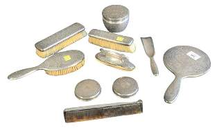 Ten Piece Tiffany & Company Sterling Silver Dresser