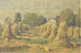 Daniel F. Wentworth (American, 1850 - 1934), Autumn
