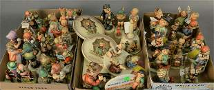 Three Tray Lots of Approximately Forty-Five Small