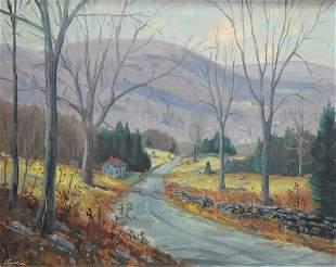 Charles Stepule (American, 1911 - 2006), country road
