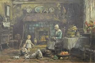 Arthur Vidal Diehl (American/British, 1870 - 1929),