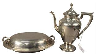 Three Piece Lot of Sterling Silver, to include a