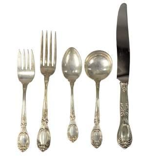 Sterling Silver Flatware Set, setting for twelve, 133.6