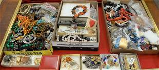 Two Box Lots of Jewelry and Costume Jewelry, to include