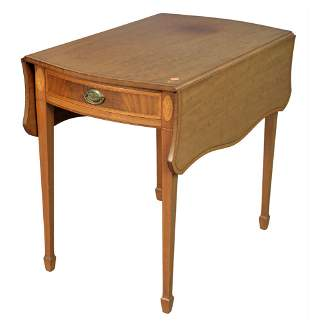 Two Margolis Tables, to include Federal style pembroke