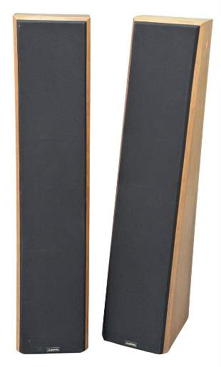 Three Piece Speaker Lot, to include a pair of Near tall