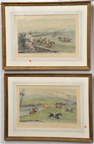 """Set of Four After F.C. Turner """"Vale of Aylesbury"""