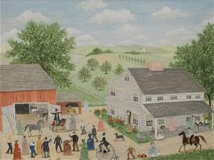 Albert Webster Davies (American, 1889 - 1967), Auction