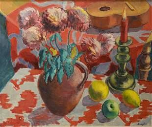 Archibald Ziegler (British, 1903 - 1971), still life