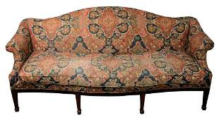 Margolis Federal Style Upholstered Sofa, having