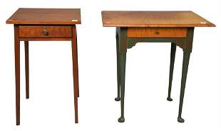 Two Eldred Wheeler Queen Anne Style Stands, one having