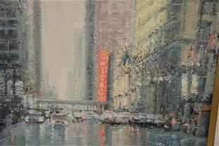 "Edward Hajdin (American, 20th century), ""Chicago"