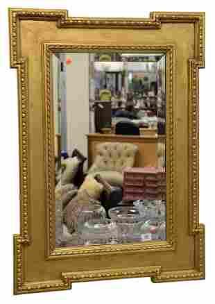 Federal Style Contemporary Rectangular Mirror, having