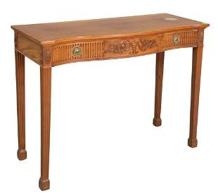 Adams Style Mahogany Server, having one drawer on