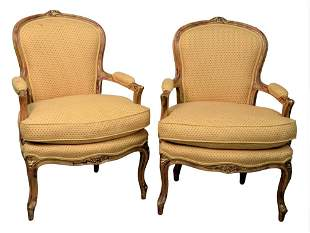 Devon Shops New York Custom Pair of Louis XV Style