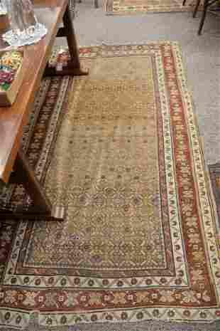 """Three Caucasian Oriental Rugs, 3'4"""" x 5'7"""", 4' x 7'6"""","""