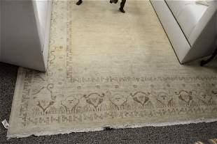 Oushak Style Oriental Carpet, 8' x 10'.