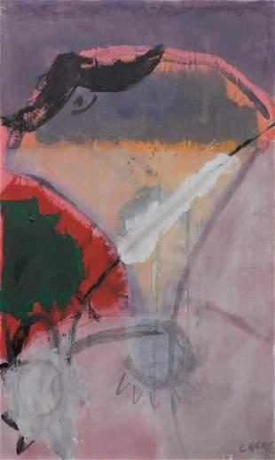 Luke Grey (American, b. 1961), Coronation, acrylic on