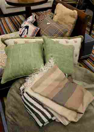 Large Group Lot, to include decorative pillows and