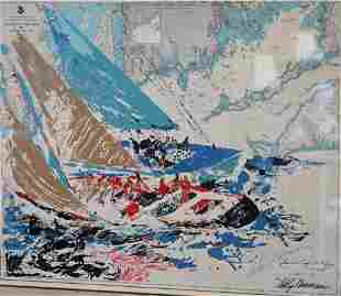 Two Piece Leroy Neiman (American, 1921 - 2012) Lot, to