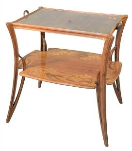 Marjorie Art Deco Center Table, height 31 inches, top