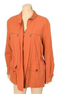 "Loro Piana Wool ""Storm System"" Jacket, orange, front"