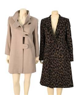 Two Cinzia Rocca Coats, to include a wool/alpaca