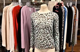 16 Piece Designer Sweater Lot, designers include Loro