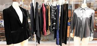 15 Piece Lot of Designer Evening Wear, to include