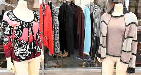 16 Piece Lot of Designer Sweater Sets, designers