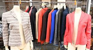 14 Akris Designer Jackets and Blazers, to include