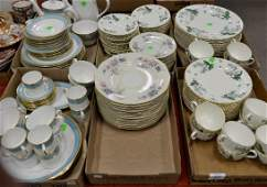 Two porcelain dinnerware sets to include a Royal