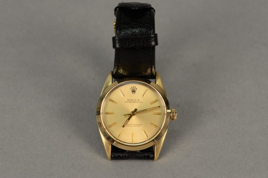 Rolex gold shell over stainless steel Oyster Perpetual - 2
