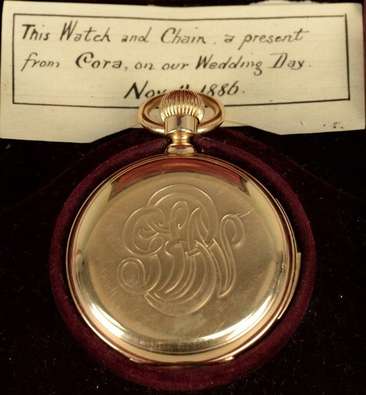 18K Tiffany & Co. pocket watch with a repeater case and