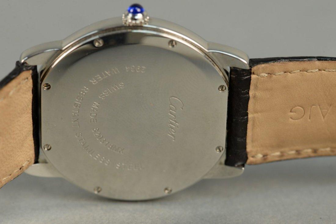 Cartier stainless man's wristwatch with original - 4