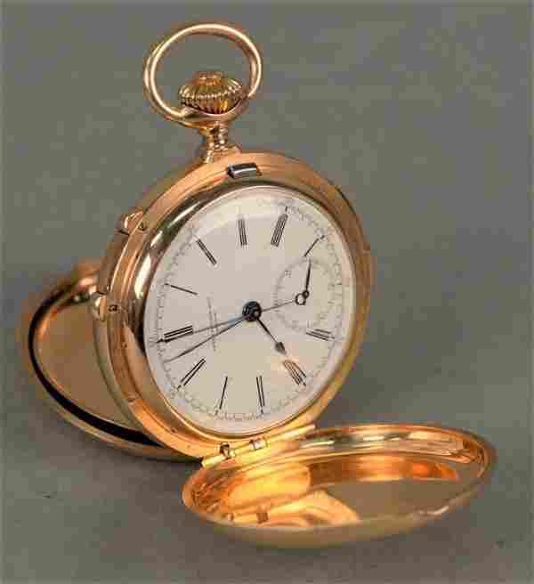 Patek Philippe minute repeater chronometer in 18K